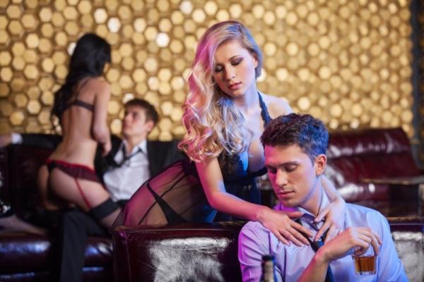 strip club events
