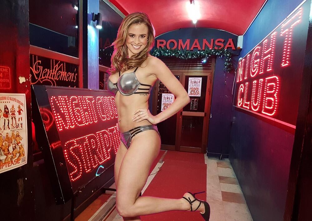 music in a strip club Romansa Nightclub 4