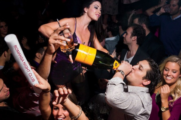 striptease club belgrade romansa